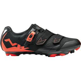Northwave Scream 2 SRS Shoes black/lobster orange